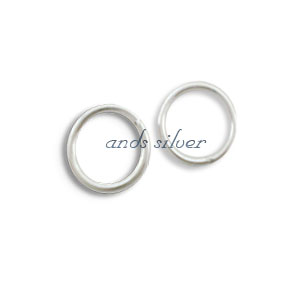 Jump ring closed 9mm